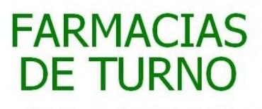 Farmacias de Turno Octubre
