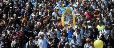 """Peregrinación juvenil a Luján: """" la fe es lo que hace que se llegue a destino"""""""