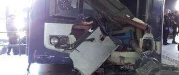 Otro choque de un tren Sarmiento en la estación de Once: hay 35 heridos