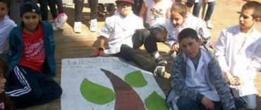 La conservación de la tierra y el ambiente entusiasman a los niños de la Escuela 53