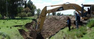 El Gobierno Municipal continúa con los trabajos de defensa contra las inundaciones