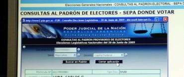 Elecciones 2013:Consulta de padrones en la Municipalidad
